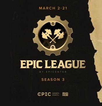 Турнир EPIC League Season 3 Division 1 по Dota 2