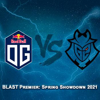 Прогноз на игру OG — G2 16 апреля 2021