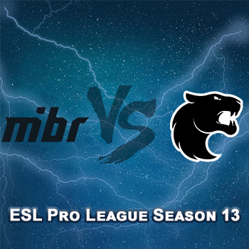 Прогноз на игру MIBR — FURIA Esports 21 марта 2021