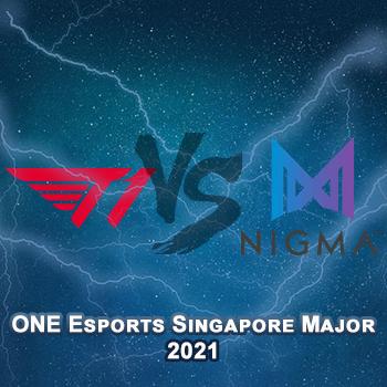 Прогноз на игру T1 — Nigma 28 марта 2021