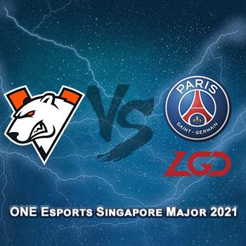 Прогноз на игру Virtus.pro — PSG.LGD 31 марта 2021